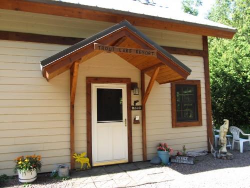 Trout Lake Resort Lakeside Cabins Pet Friendly