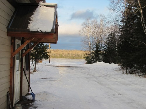 Early Spring at Trout Lake Resort