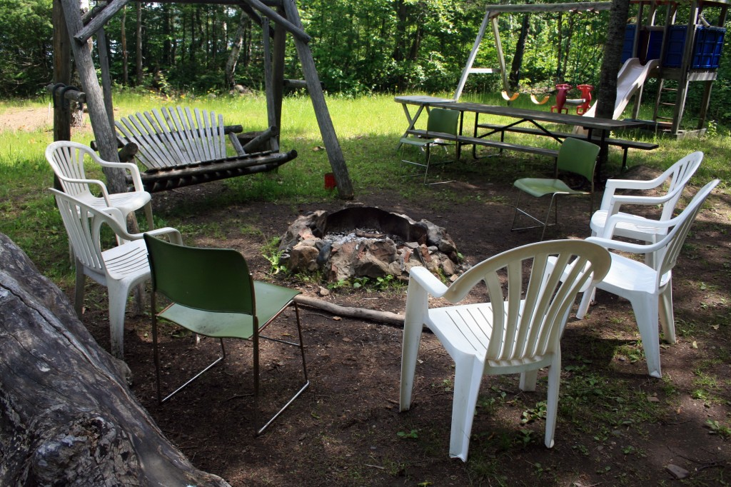 Camp Fire and Play Area