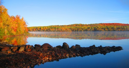Autumn at Trout Lake Resort
