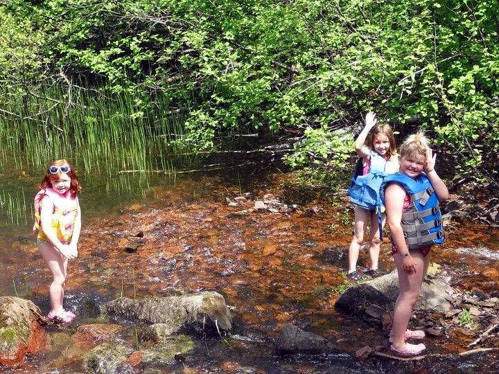 Kids in the Creek