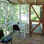 Cabin 7 Screened-in Porch
