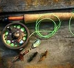 Fly Reel and Rod