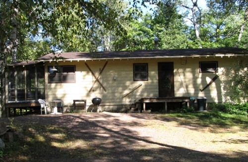 Cabin 7 Outside Front
