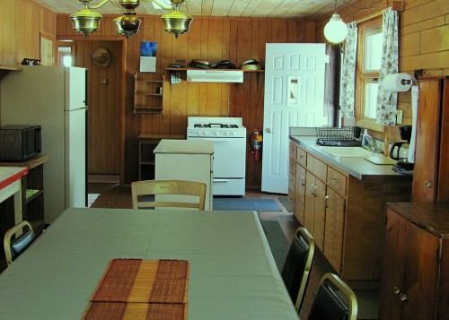 Cabin 7 Kitchen