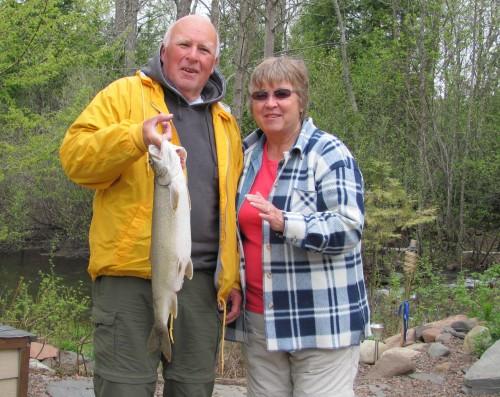 Ralph's 5.13 lb Lake Trout
