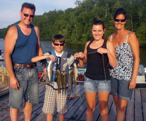 Family Fishing Vacation on Trout Lake