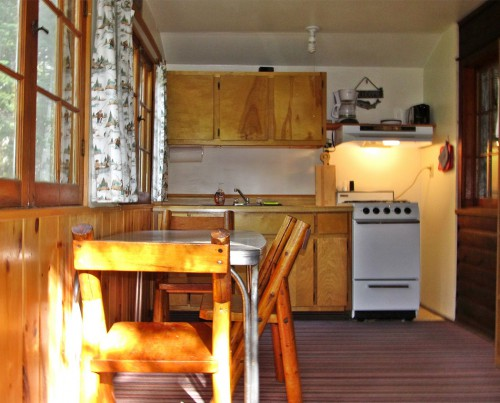 Cabin 3 Kitchen