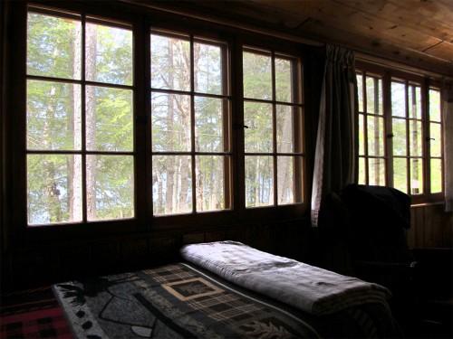 Cabin 5 Porch Windows