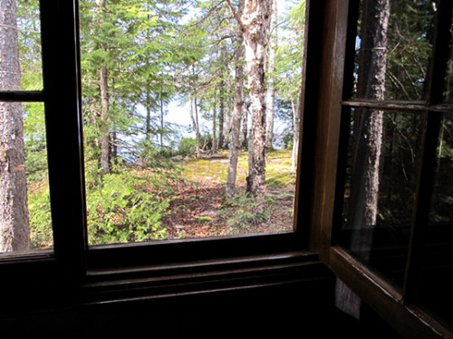 View from Cabin 5's Porch
